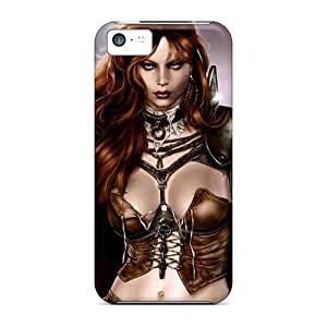 linJUN FENGFirst-class Case Cover For ipod touch 5 Dual Protection Cover Warrior