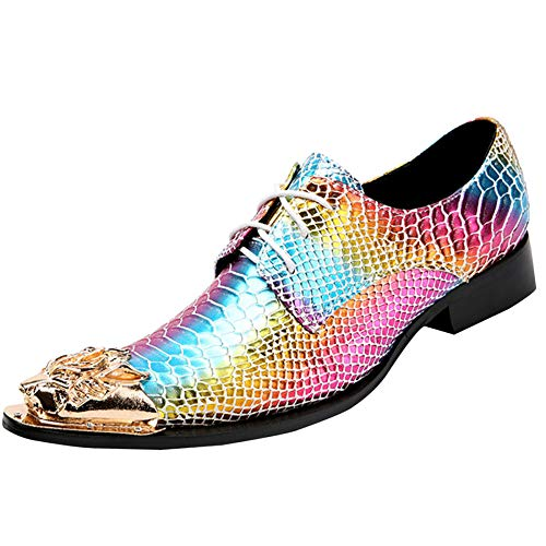 Herren Derby Schuhe Mode Schuhe Color