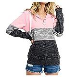 Womens Long Sleeve Hoodies,LuluZanm Sales! Ladies