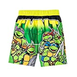 ninja turtles boys bathing suit - Teenage Mutant Ninja Turtles Little Boys' Toddler Swim Trunks, TMNT (3T)