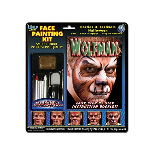 Wolfman Face Painting Wolfe Colors product image