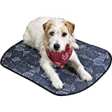 PetEdge Miracool Dog Mat, Small, 18-Inch, Cowboy Blue