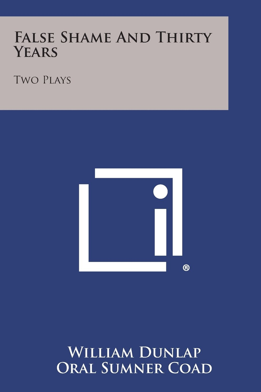 Download False Shame and Thirty Years: Two Plays pdf