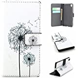 Sony Xperia Z5 Case,Ngift [Dandelion Dream] [Wallet S] [Kickstand Feature] Premium Wallet PU Leather Folio Wallet Flip Case Cover for Sony Xperia Z5 Case