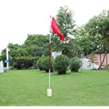 VANPOWER Golf Flag with Cup for Yard Golf Putting Green Flagstick Backyard Practice Golf Hole Pole Cup Flagstick
