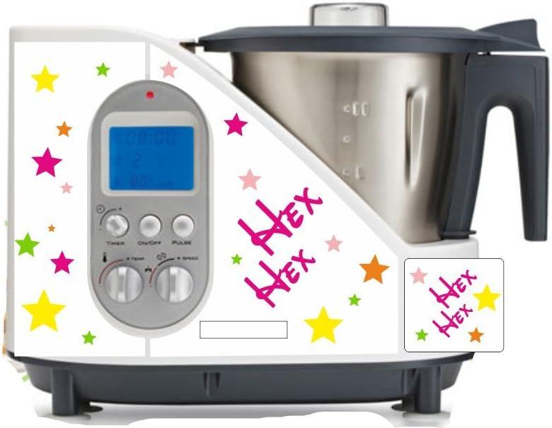 Robot de cocina pegatinas Hex HEX para SC 100: Amazon.es