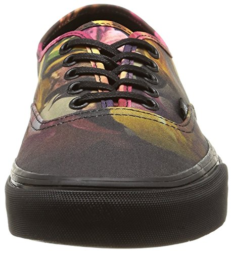 black Vans Unisex U Ombre Authentic Sneakers ombre Floral black Floral Multicolore ZqPZwz