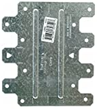 Simpson Strong Tie LTP5-100 20-Gauge 4-1/2'' X 5-1/8'' Lateral Tie Plate (100-Per Box)