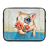 Summer Moon Fire Popular Pig Briefcase Handbag Case Cover For 13-15 Inch Laptop, Notebook, MacBook Air/Pro
