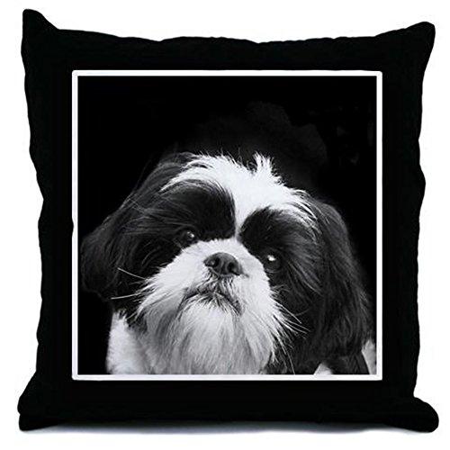 CafePress Shih Tzu Dog Decor Throw Pillow (18