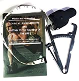 Body fat caliper combo with measuring tape user manual with a physical booklet about fat loss consisting of free workout and knowledge to design your diet by FFG!