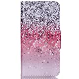 Acer Liquid Jade Z Case ,Gift_Source [Glitter] [Stand Feature] Magnetic Snap Case Premium Wallet Case Kickstand Flip Built-in Card Slots Folio Case for Acer Liquid Jade Z(5 inch)