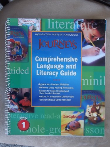 Houghton Mifflin Harcourt Journeys: Common Core Literacy and Language Guide Grade 1