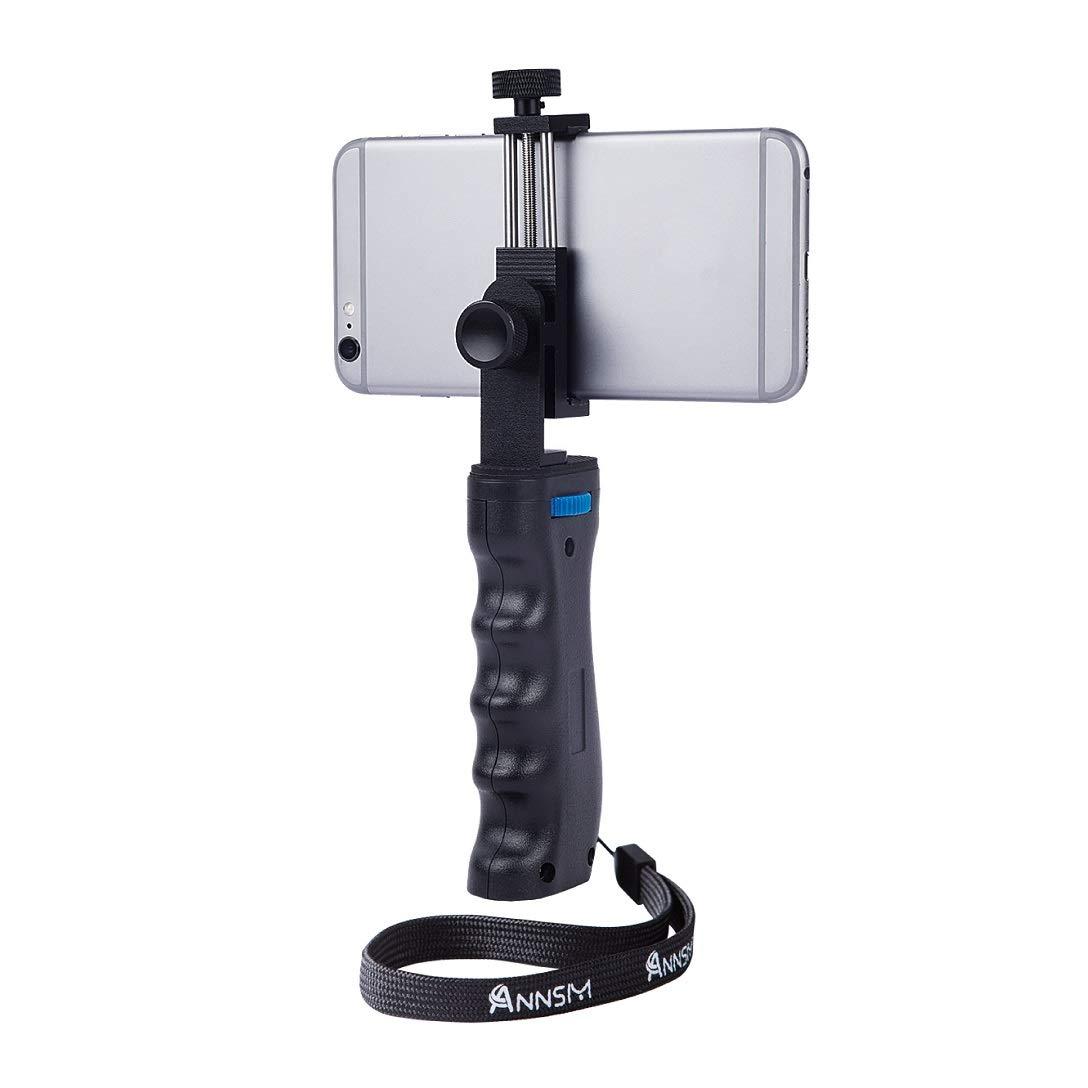 Jaula de video Annsm para móviles o smartphones, con dos soportes ...