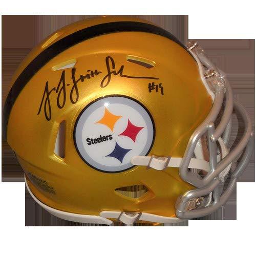 JuJu Smith-Schuster Autographed Signed Auto Pittsburgh Steelers Blaze Alternate Mini Helmet TSE - Certified Authentic ()