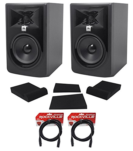 Jbl Studio Stereo Speakers - (2) JBL 305P MkII 5