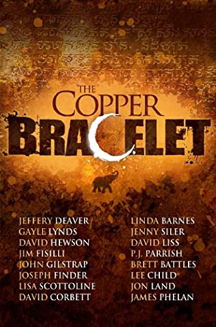 book cover of The Copper Bracelet