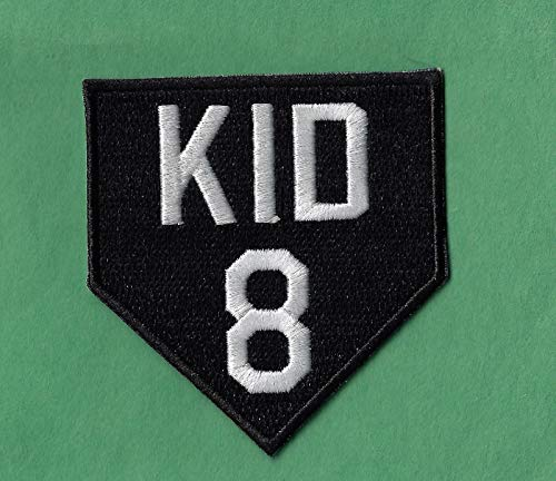 (Iron On Embroidered Patch Top Quality Gary Carter The Kid Mets Expos Memorial Iron on, 2 3/4 X 3
