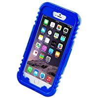 iPhone 6 Waterproof Case, iThroughTM Waterproof, Dust Proof, Snow Proof, Shock Proof Case with Touched Transparent Screen Protector, Waterproof Protection up to 20ft, Heavy Duty Protective Carrying Cover Case for iPhone 6 4.7 inch