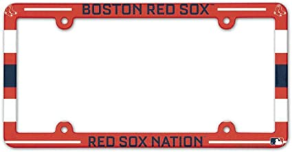Rico Industries MLB Boston Red Sox License Plate Frame One Size Team Color