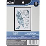 Bucilla My 1st Stitch Counted Cross Stitch Kit (5 by 7-Inch), 46045 Leap of Faith