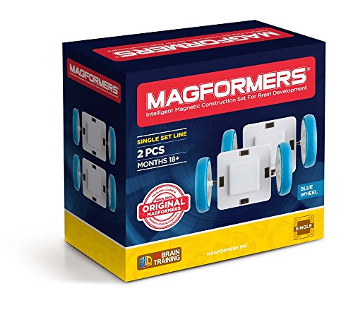 Magformers Single Wheel 2Pc - Wheels Magformers With