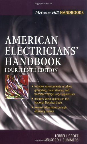 American Electricians' Handbook 14th edition by Croft, Terrell, Summers, Wilford (2002) Hardcover