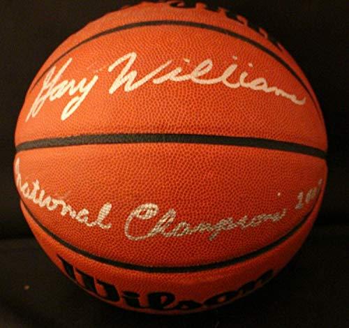 Gary Williams Autographed Signed Memorabilia Wilson Ncaa Basketball 2002 National Champion - JSA Authentic