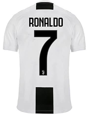 470aac0cd Barlener Men s Ronaldo Jerseys Juventus 7 Football Jersey Soccer Jersey  White