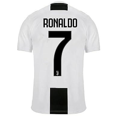 6ba2e49233 Barlener Men's Ronaldo Jerseys Juventus 7 Football Jersey Soccer Jersey  White