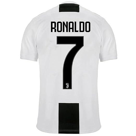 Barlener Mens Ronaldo Jerseys Juventus 7 Football Jersey Soccer Jersey White ...
