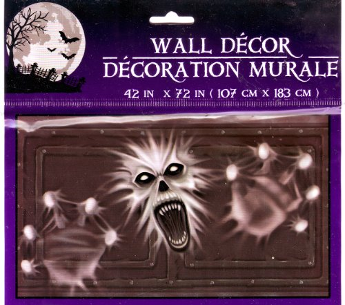Halloween Scary Ghost Monster Vampire Wall Mural 42 x 72 inches
