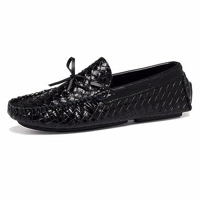 Moonwalker Zapatillas para Hombre en Cuero (EUR 45 ,Negro)