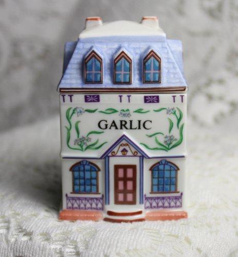 Lenox Spice Jar (Garlic 'Lenox Spice Village' Porcelain Victorian House Spice Jar)
