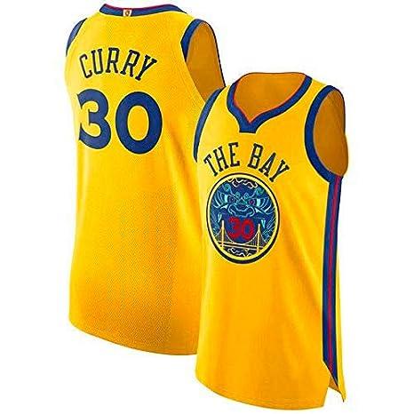 A-lee Men/'s Basketball Jersey Golden State Warriors #30 Stephen Curry,Basketball Swingman Jersey Sportswear Unisex Sleeveless T-Shirt