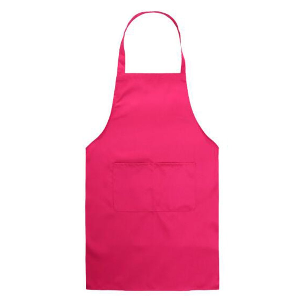 Men Women Cooking Apron - Kitchen Butchers Cooks Restaurant Bistro BBQ School College Workwear Apron with Double Pockets for Adult Coffee juqilu network technology Co. Ltd