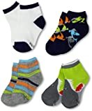 Stride Rite Boys 2-7 4 Pack Fun Sharks Quarter