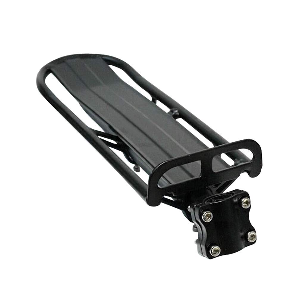 Toxz Adjustable Bike Cargo Rack Cycling Pannier Bicycle Luggage Carrier,Aluminum Alloy Material,Quick Release,Removable Bike Rear Shelf by Toxz bike accessories