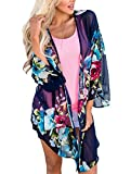 Uincloset Summer Chiffon Kimono and Beach Wear Cover Ups for Women