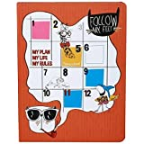 Doodle My Plan My Rules Planner Notebook - B5, 80G/m2, 240 single ruled (pages)(Multicolor)