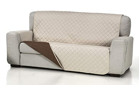 Belmarti Cubre Sofa Acolchado 4/P, Beige, 4 Plazas: Amazon ...