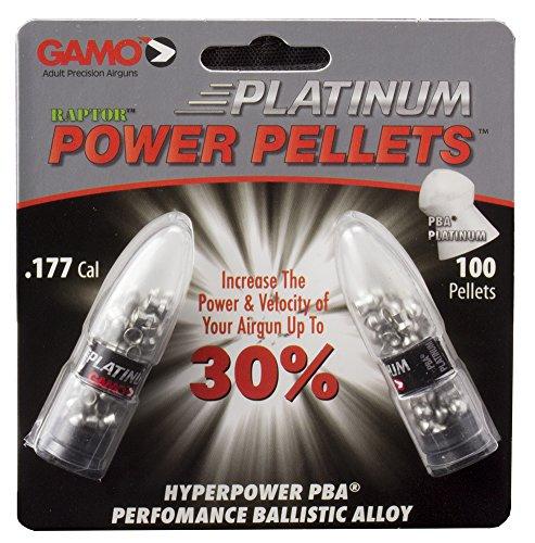 Gamo Air Gun Pellets PBA Platinum .177 Cal. Qty of 100