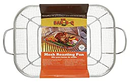 Mr Bar B Q 06805X Stainless Steel Mesh Roasting Pan