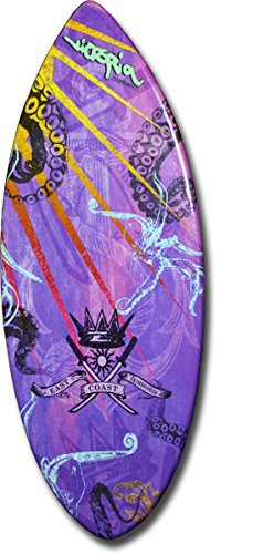Skimboard / Victoria Ultra Model - 51'' Small Skim Board / Custom East Coast Skimboards Art by East Coast Skimboards