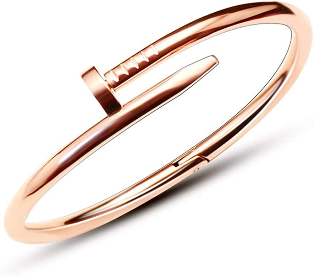 Pulsera de acero para mujer, para boda, para mujer, ideal como regalo de San Valentín