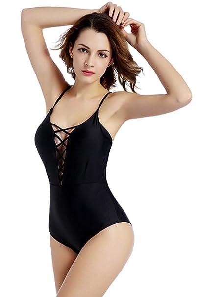 Amazon.com: Evoland Mujer Bañador de una pieza trajes de ...