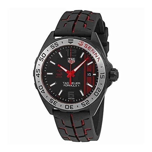 Tag Heuer Formula 1 Black Opalin Dial Mens Watch WAZ1014.FT8027