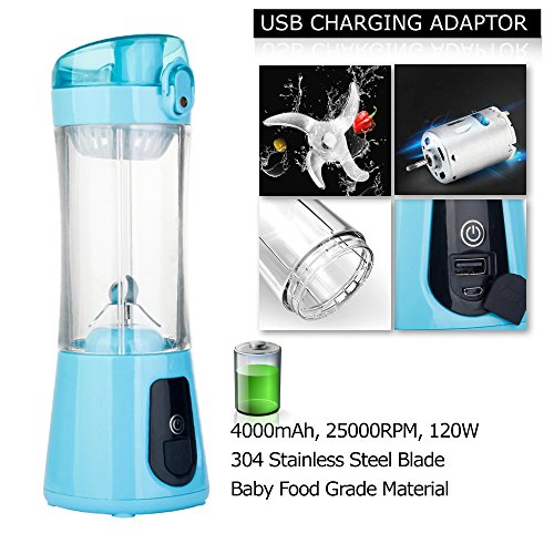Portable Blender for Shakes and Smoothies, Mini Travel Blenders for Making Smoothie and Juice