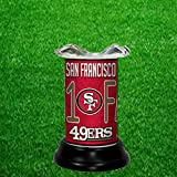 SAN FRANCISCO 49ERS TART WARMER - FRAGRANCE LAMP - BY TAGZ SPORTS