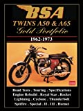 Bsa Twins A50 And A65 Gold Portfolio1962- 1973